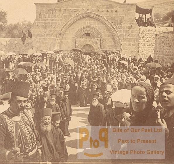g12381 Greek Orthodox Christians in Gaza