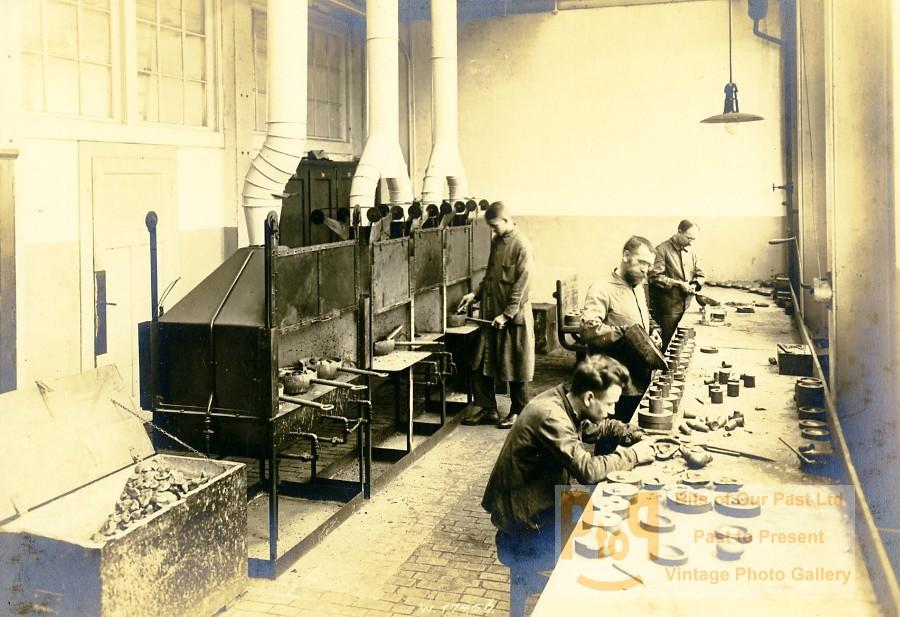 germany essen krupp dental steel factory foundry workshop old photo 1930. Black Bedroom Furniture Sets. Home Design Ideas