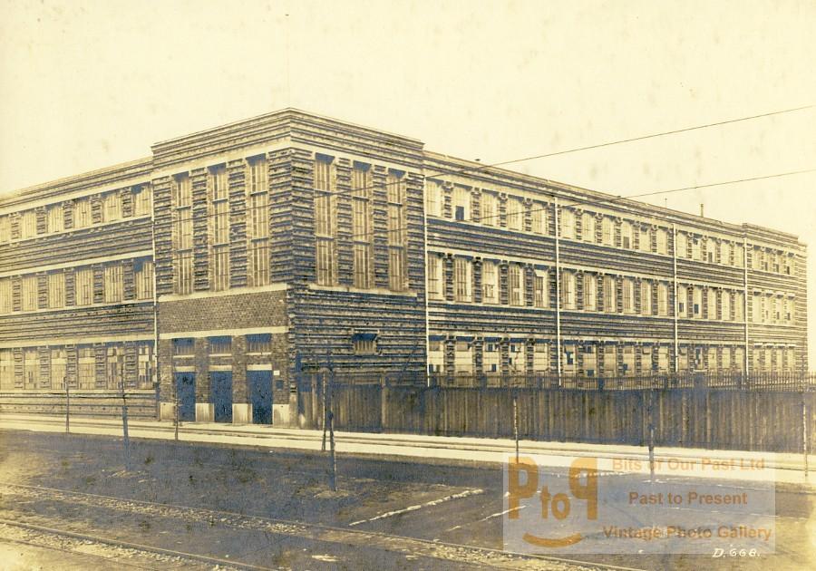 germany essen krupp dental steel factory workshop building old photo 1930. Black Bedroom Furniture Sets. Home Design Ideas