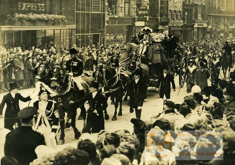 Fleet United Kingdom  City new picture : United Kingdom London Fleet Street Lord Mayor Parade Old Press Photo ...