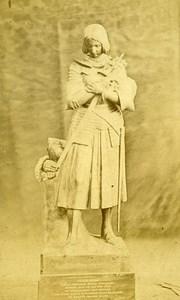 Joan of Arc 88300 Domremy Old CDV Photo Odinot 1880