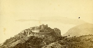 Panorama Around Nice 0600 France Old Photo CDV 1870