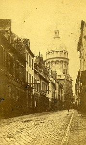 Cathedral Street 62200 Boulogne sur Mer France Old CDV De Mauny Photo 1870