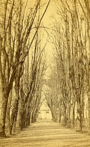 Promenades 72000 Le Mans France Old CDV Ferre Photo 1870