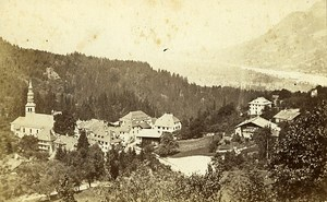Switzerland Geneva Old Photo CDV Pricam 1870