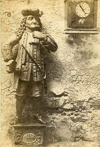 Germany Heidelberg Statue Old Photo CDV Richard 1870