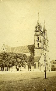 Church Unidentified Place Switzerland Old Photo 1870