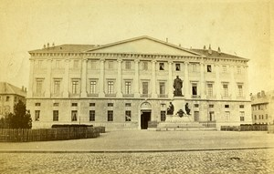 City Hall 73000 Chambery Savoie France Old CDV Perrot Photo 1870
