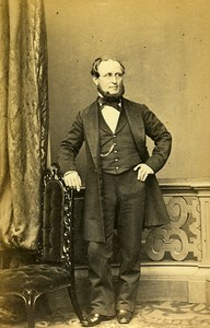Man Fashion London United Kingdom Old CDV Mayall Photo 1870