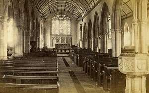 Chapel Hastings United Kingdom Old CDV Mann Photo 1870