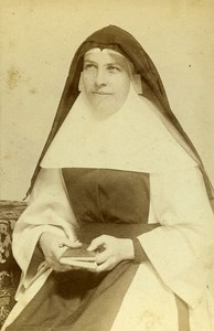 Londres Catholic Religious Portrait Old Photo CDV Russell & Sons 1890