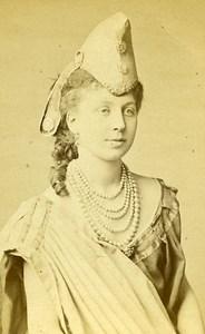 Actress Paris France old CDV Saint Edme Photo 1870
