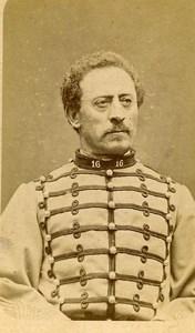 Captain Treasurer Thuriet 16e Horses Regiment Army France Old CDV Photo 1878