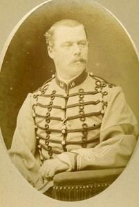 Second Lieutenant Lichy De Lichy 16e Horses Regiment Army France CDV Photo 1878