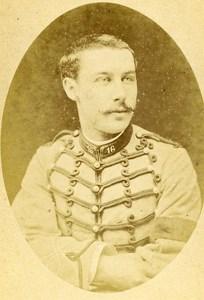 Sub Lieutenant Sabry de Montpoly 16e Horses Regiment Army France CDV Photo 1878