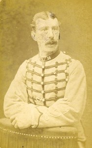Second Lieutenant Gaillagac 16e Horses Regiment Army France Old CDV Photo 1878
