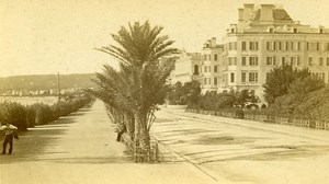 06000 Nice Promenade des Anglais France Old Photo CDV Degand 1875