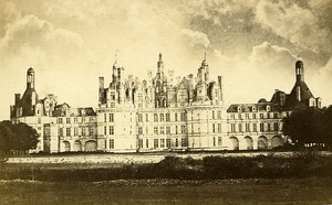 41000 Blois Castle France Old Photo CDV Mieusement 1875