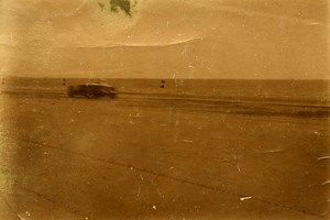 Sand Race Car France Berck sur Mer 62600 France old Snapshot Photo ca 1930