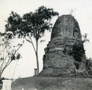 Indochina Laos Vientiane Ruins old Amateur Snapshot Photo 1930
