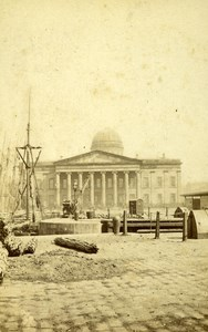 United Kingdom Liverpool Custom House Old CDV Photo Randall 1865