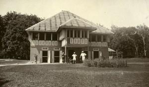 Indonesia Sumatra East Coast Rubber Estate Manager House Old Photo 1930