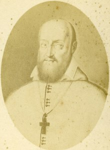 France Lyon Christian Religion François de Sales Old CDV Photo Victoire 1870