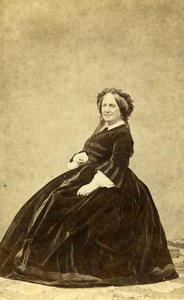 France Paris Adeline de Froidefonds des Farges Old CDV Jacques Photo 1865