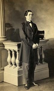 France Paris Comte Fernand de Besples Old CDV Levitsky Photo 1860