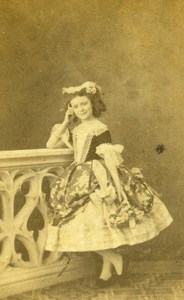 France Nancy Jeanne Ambert Old CDV Photo 1859