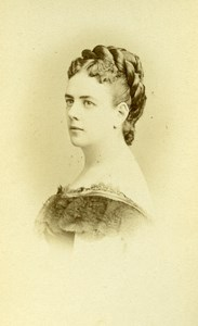 France Paris Actress Miss Stella Old CDV Reutlinger Photo 1870