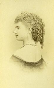 France Paris Actress Mademoiselle Gouvion Old CDV Reutlinger Photo 1870