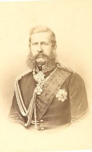 Friedrich III Prussia Kronprinzen Prince CDV Photo 1865