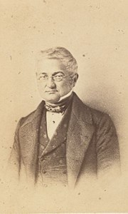 Adolphe Thiers, Politician, France, old CDV Photo 1865'
