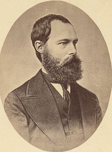Philippe d'Orleans, Count of Paris, old CDV Photo 1865'