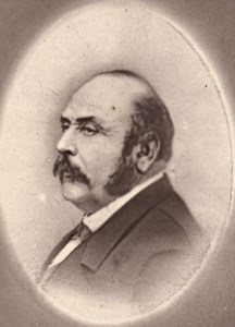 Alexandre Ledru Rollin, France, old CDV Photo 1865'