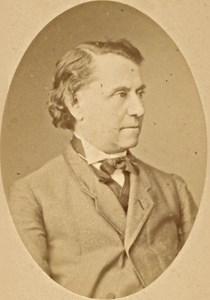 Louis Blanc, Historian, France, old CDV Photo 1865'