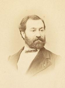 Duchanoy Baritone Opera Singer Mulnier CDV Photo 1870