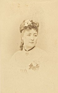 Sophie Deschamps, Actress, France, old CDV Photo 1870