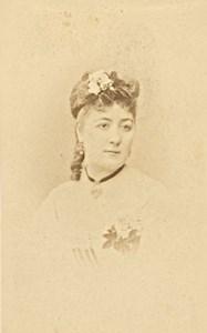 Sophie Deschamps, Actress, France, old CDV Photo 1870