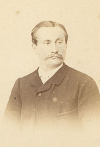 Leonard Fontenay, Painter, France, old CDV Photo 1865'
