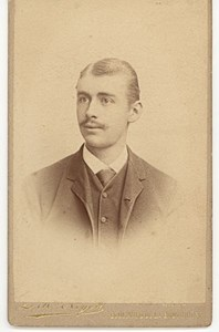 M. Buys Tenor Opera, Belgium, old CDV Photo 1880'