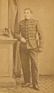 Brest France Military Uniform Old CDV Photo 1880'