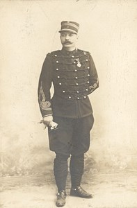 Grenoble France Military Uniform Old CDV Photo 1880'