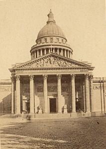 Pantheon Paris Second Empire old CDV Photo 1867