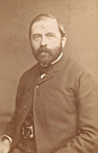 Leon Chevreau French Politician old CDV Photo 1870'