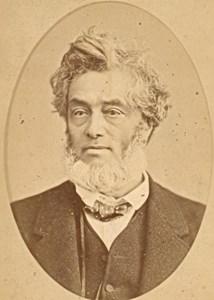Jules Favre French Politician old CDV Photo 1870'