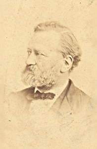 Dyonis Ordinaire French Politician old CDV Photo 1870'