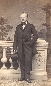 France Man Fashion Second Empire CDV Photo Langrene1865