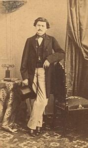 France Man Fashion Second Empire CDV Photo Pinot 1865
